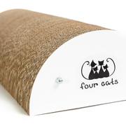 Когтеточка для кошки LUNA из картона